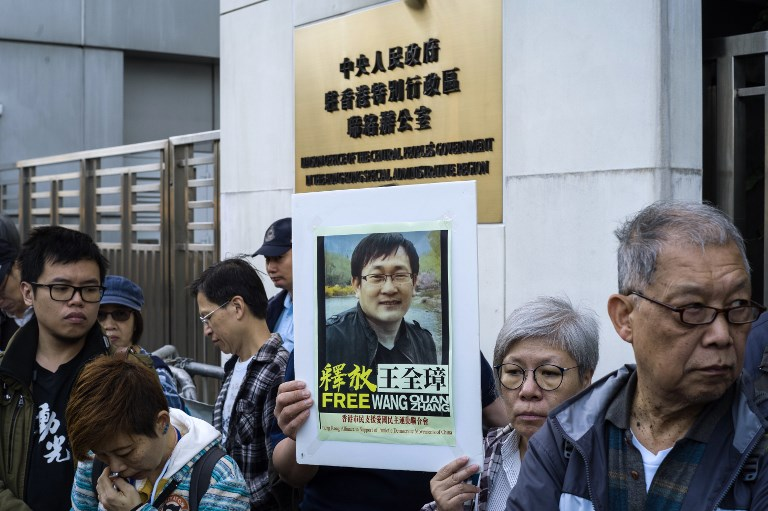 China rights lawyer released after 5 years in jail