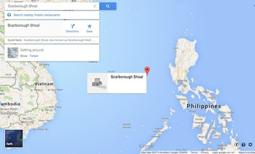 Google removes Chinese name on map after Philippine furor