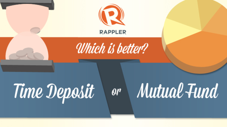 Which is better? Time deposit or mutual fund?