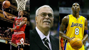on sale a4116 1134b Phil Jackson, who has coached both Michael Jordan and Kobe Bryant,