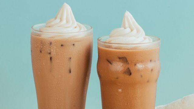 MILK TEA. McDonald's introduces their newest beverage, the Milk Tea McFloat. Photo courtesy of McDonald's Philippines
