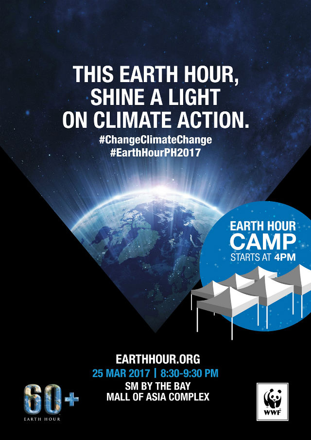 Switch Off For Earth Hour 2017