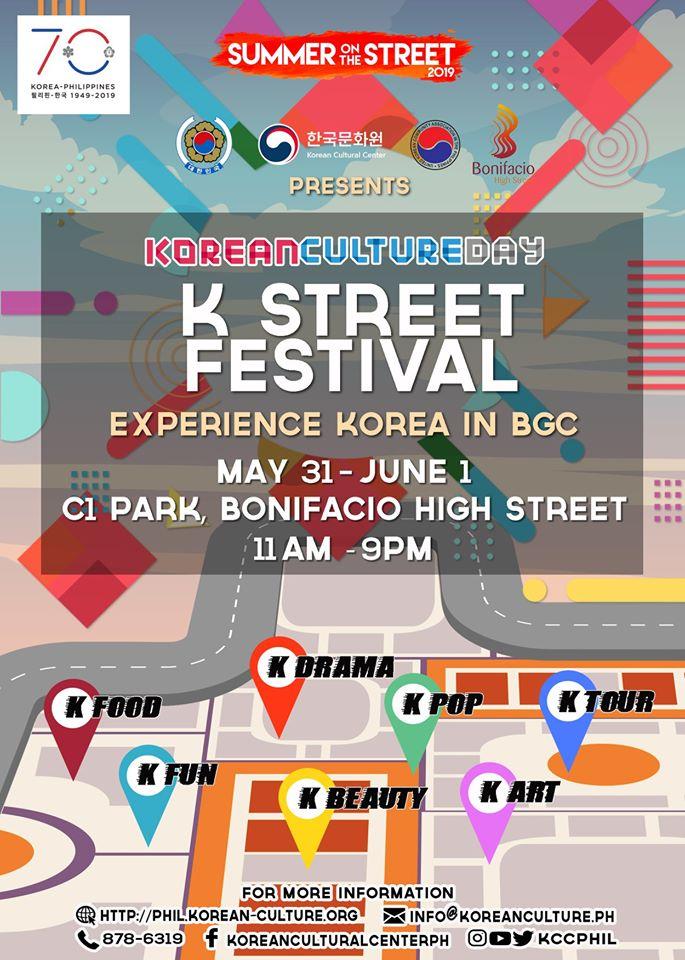 Go K-razy over Korea at the K-Street Festival in BGC