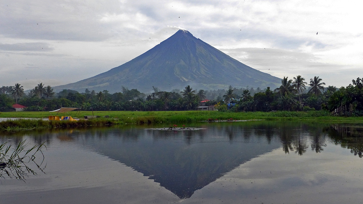 After months of quiet, Mayon volcano erupts again