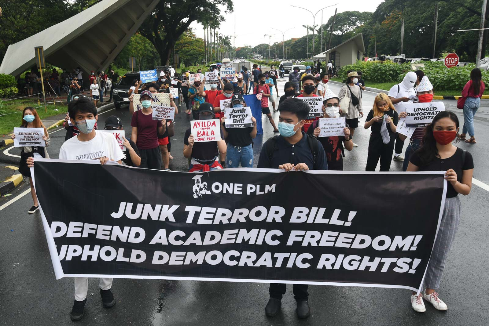'Further chilling effect:' U.N. rights chief urges Duterte not to sign anti-terror bill