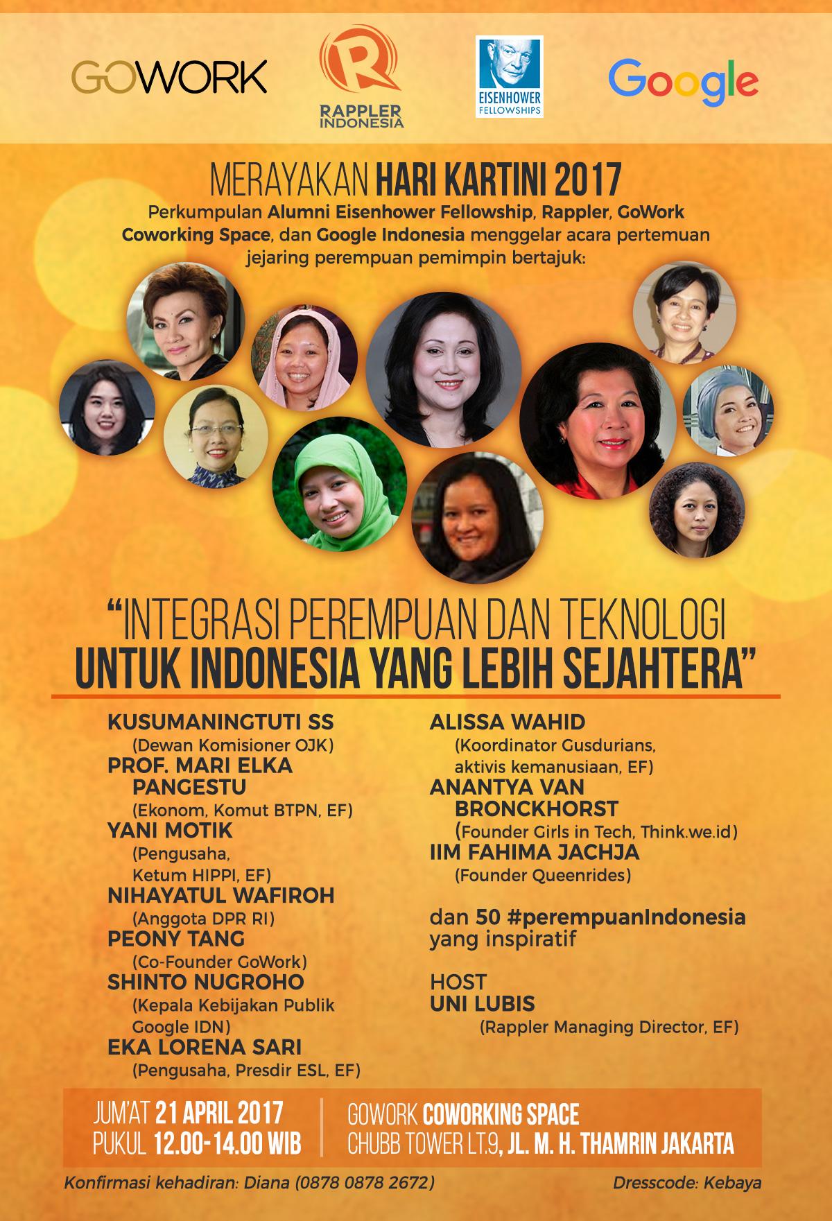 10 Perempuan Inspiratif Indonesia Bicara Peran Teknologi
