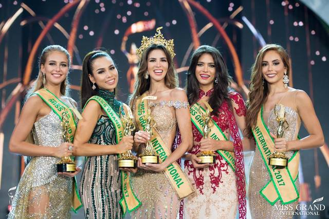 Liz Clenci wins 2nd runner-up in the Miss Grand International pageant in Vietnam. Photo from Miss Grand International Facebook page