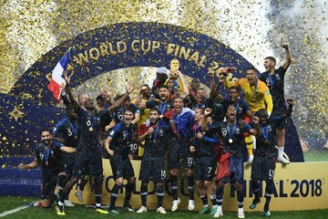 61c59d9e9 France s World Cup champion team brings hope to country s marginalized  immigrant population. Photo