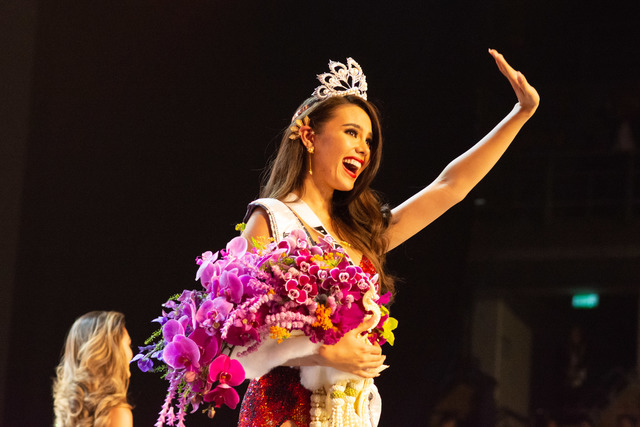 4TH CROWN. Catriona Gray is now the 4th Filipino to win the Miss Universe crown. Photo by the Miss Universe Organization
