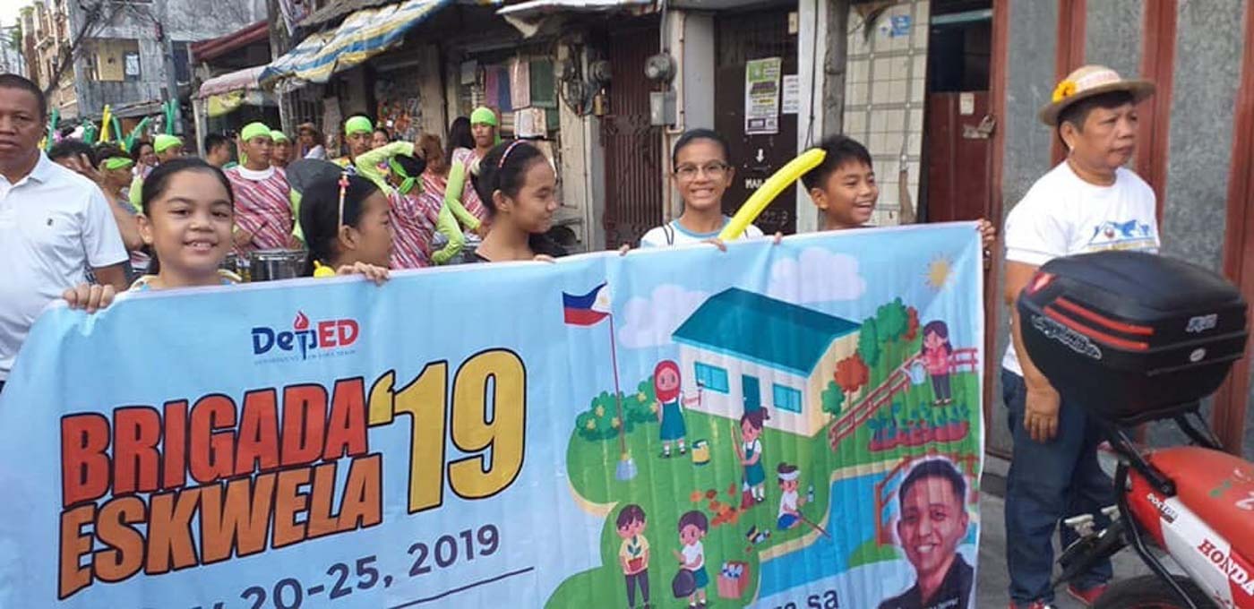IN PHOTOS: Brigada Eskwela 2019 kicks off nationwide