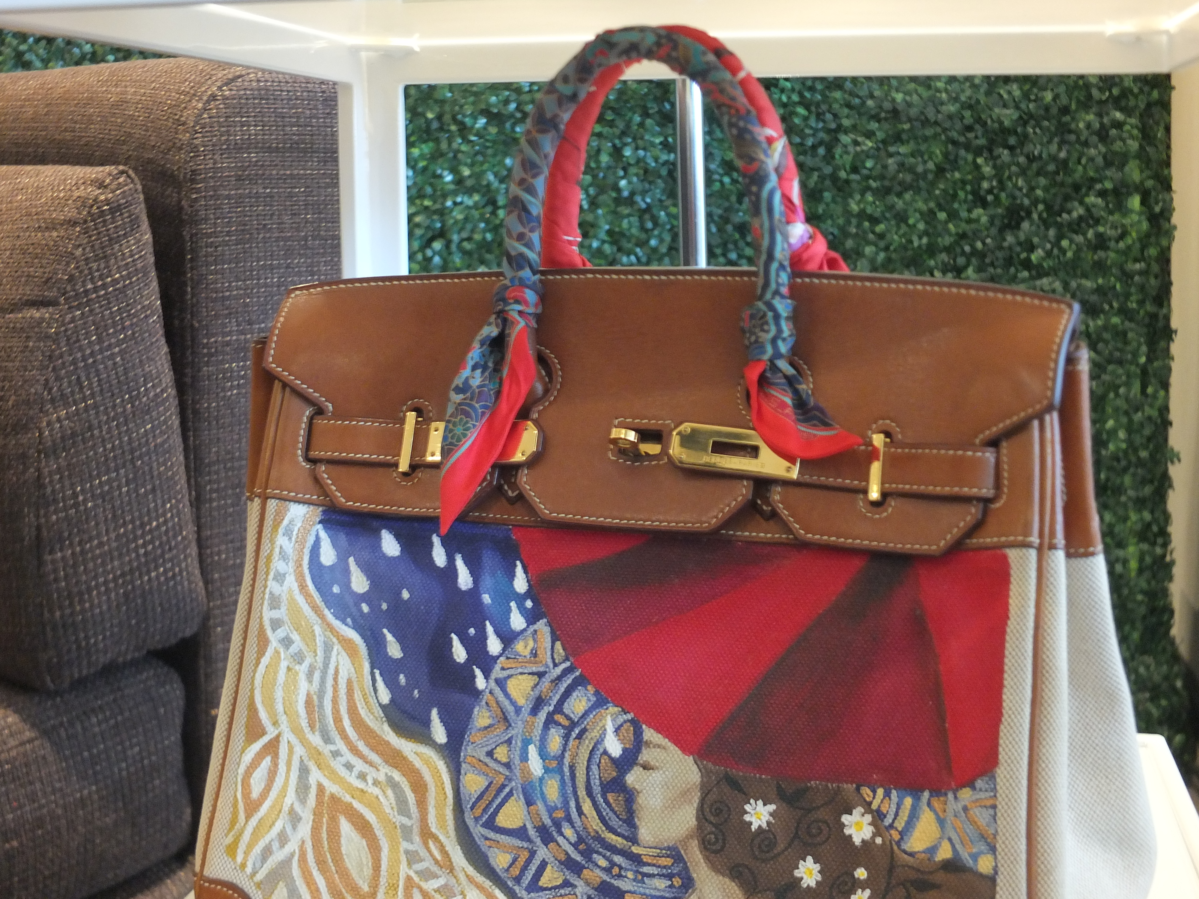 4d2550182d09 Check out Heart Evangelista s line of hand-painted bags