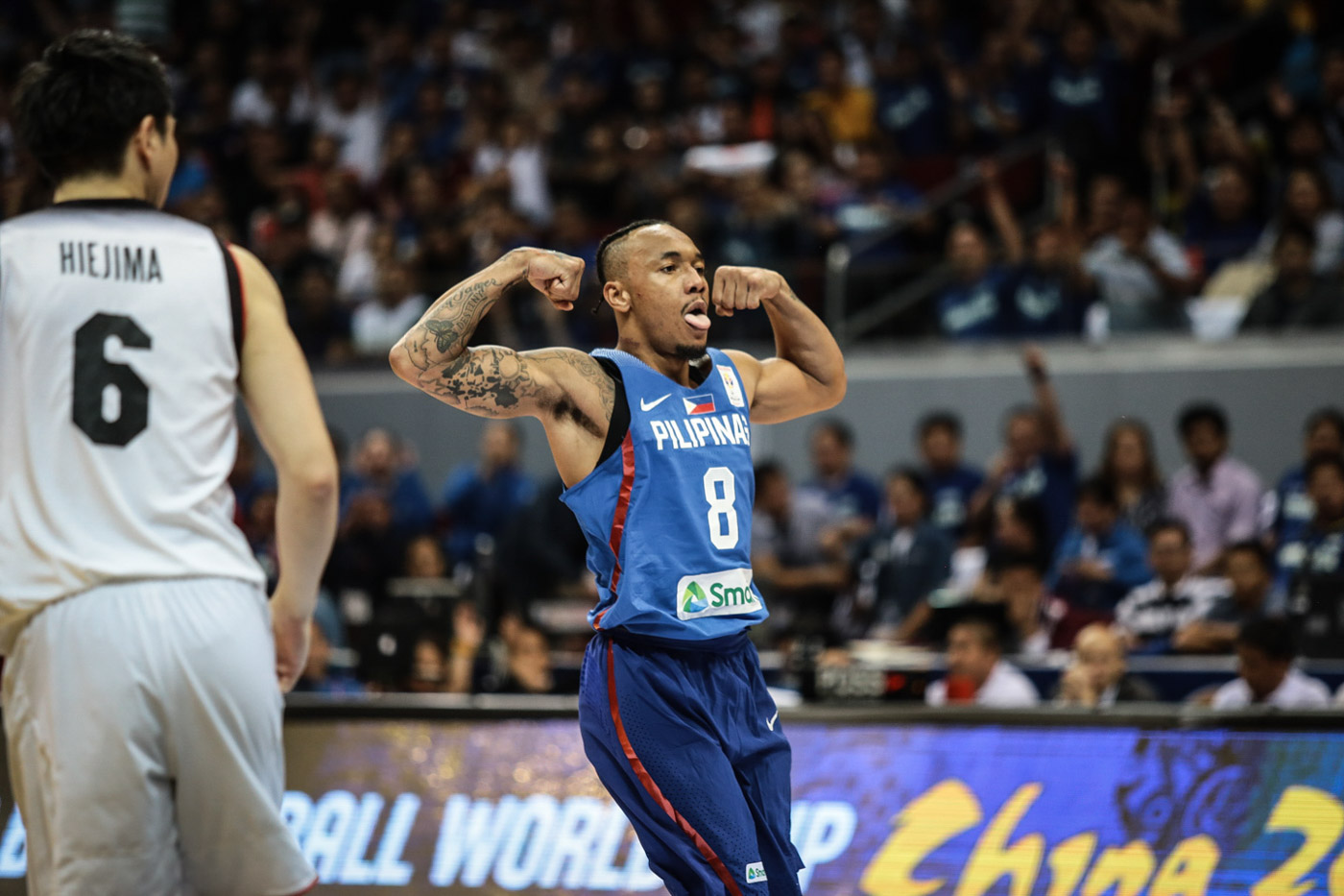 Big Reveal Calvin The Beast Abueva Cried Upon Returning To Gilas