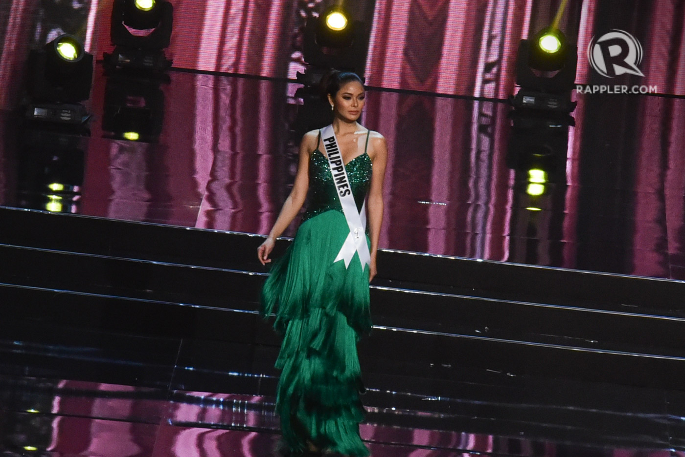 IN PHOTOS: Miss Universe 2016 evening gown competition