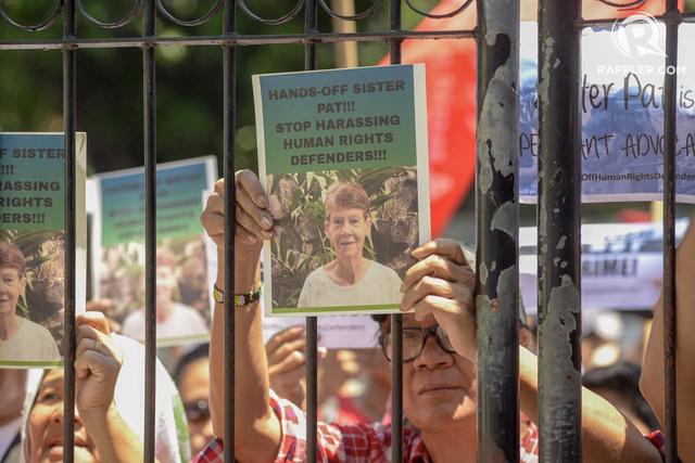 Duterte critics slam detention of 71 year old australian nun - Bureau d immigration australien ...