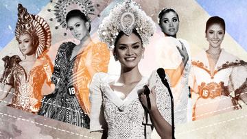 A look back at memorable national costumes of Bb Pilipinas