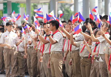 How to sing PH national anthem, and display symbols in