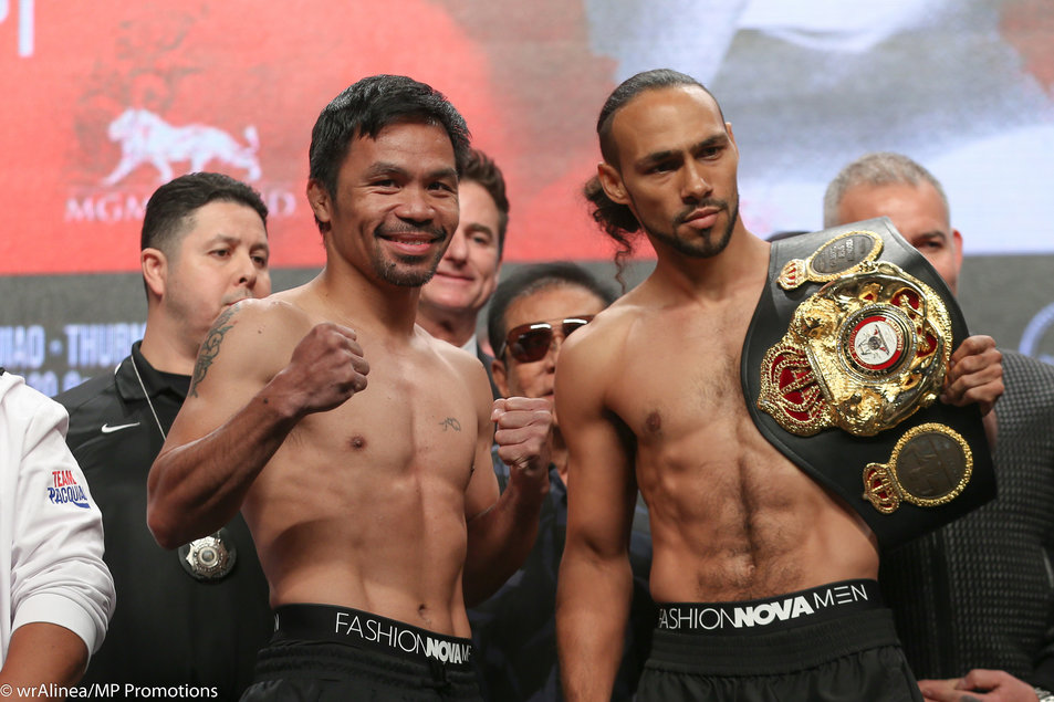 Pacquiao battles Thurman in Legend vs Undefeated