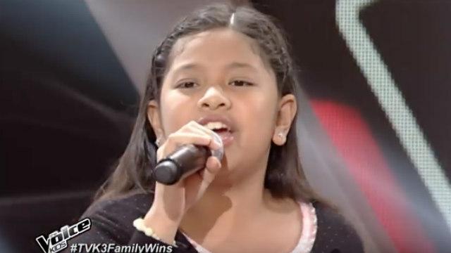 WATCH: Elha Nympha sings \'Emotions\' on \'The Voice Kids\' PH