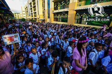 IN PHOTOS: Opening of classes for 2018