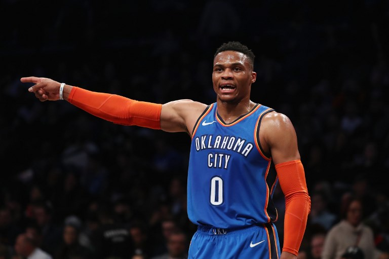 b3733f8f8c08 UNRUFFLED. Russell Westbrook doesn t care about all the talk after the  Thunder fall