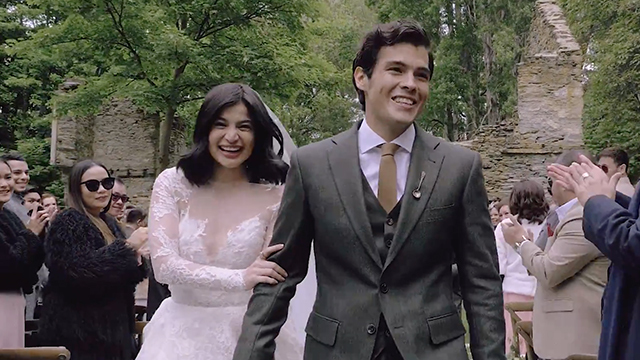 Mr and Mrs Heussaff