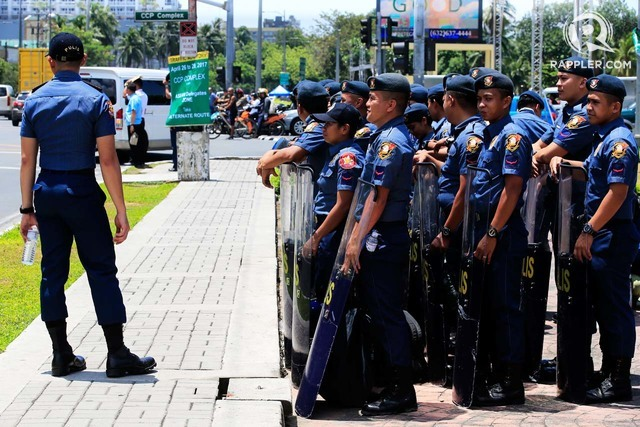 SAFETY CHECK. Back in April, thousands of police were deployed to ensure security during the 30th ASEAN Summit in Manila