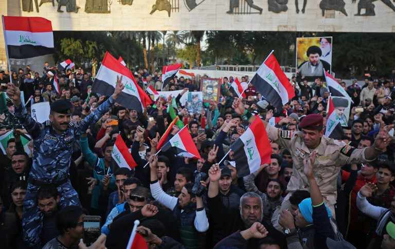 Iraq holds military parade to celebrate victory over ISIS