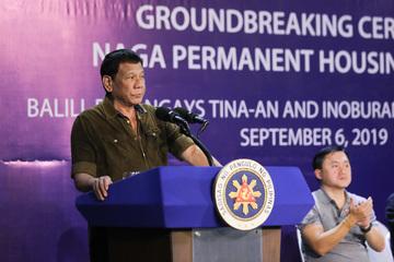 Duterte: I ordered transfer of De Lima witnesses to marine