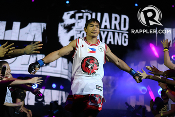 Eduard Folayang sheds light on signature walkout song