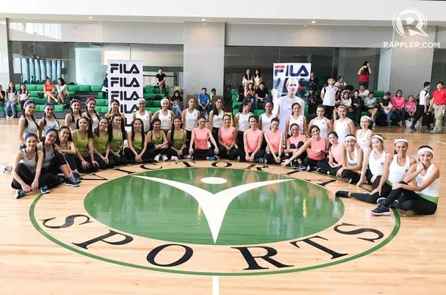 SPORTS CHALLENGE. The Miss World Philippines 2017 candidates test their athletic side in the sport challenge on August 17. The Sports Challenge is one of the competition's fast tracks. All photos by Voltaire E. Tayag/Rappler