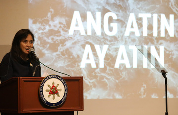 Robredo: China presence in West PH Sea 'most serious