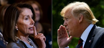 Trump Pelosi Clash In Heated White House Meeting On Syria