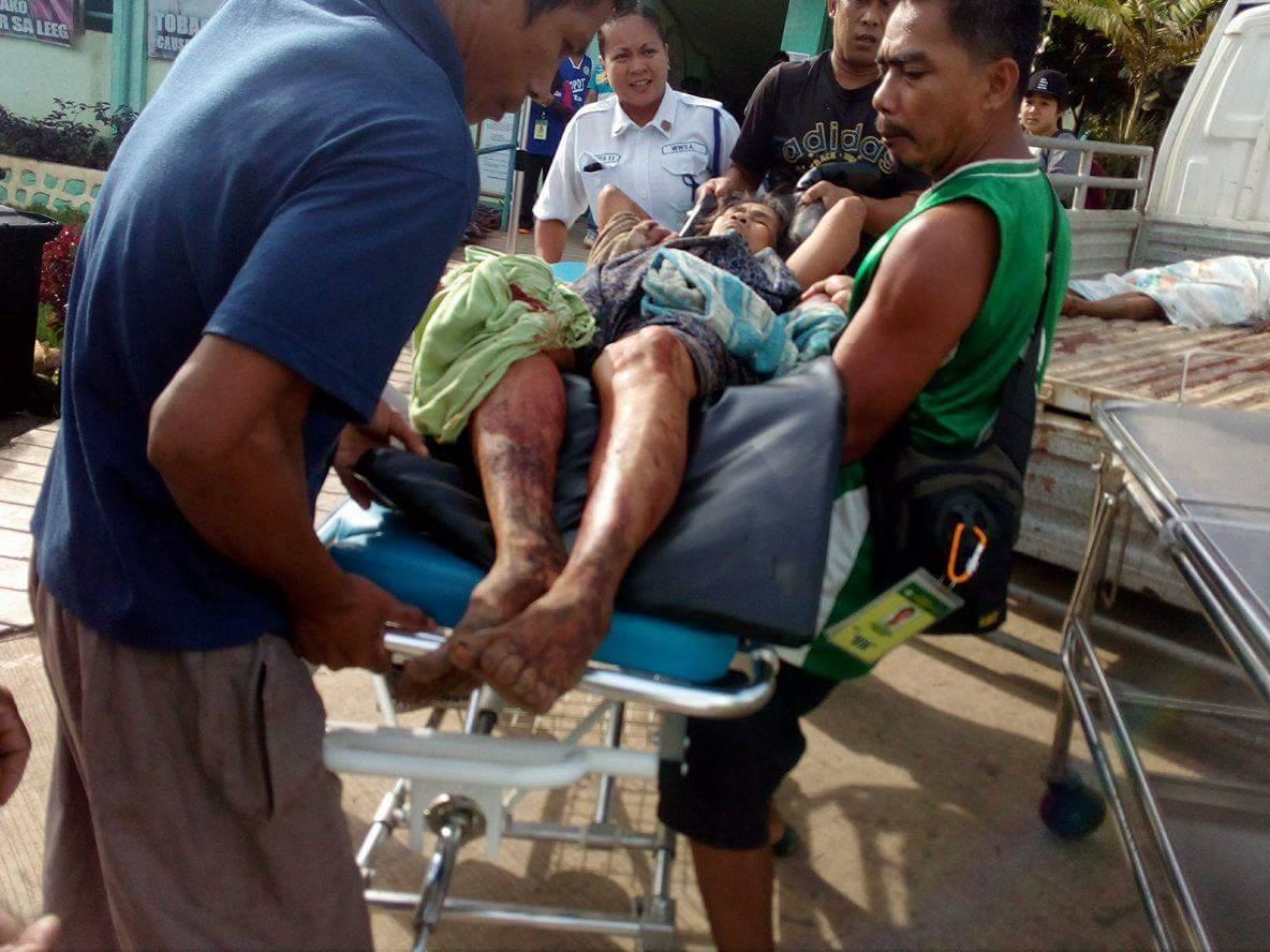 ABU SAYYAF ATTACK. Bandits under Furuji Indama attack the village of Tubigan in Maluso, Basilan. All photos from Richard Falcatan/Rappler
