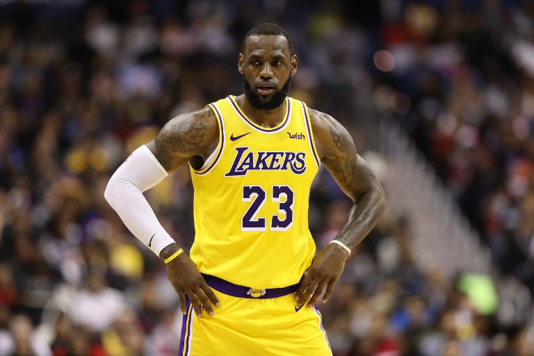 LeBron misses Lakers road trip, to return to practice next week
