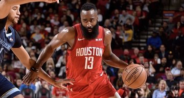 b722ca122f8 James Harden erupts for a 43-point triple-double to power the
