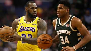fc82f30c62d43 LeBron James earns his 15th All-Star selection while Giannis Antetokounmpo  gets voted
