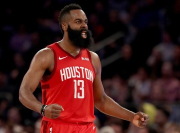 65b5e2fdab89 James Harden says he intends to sustain his record-breaking scoring show.