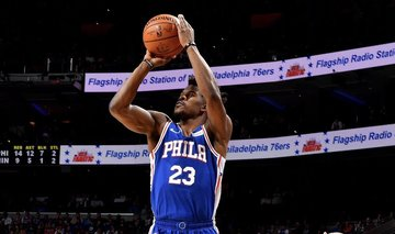 best website 3e9a0 9be60 Sixers crush T'wolves in Butler's first clash vs former team