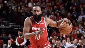 3de4b88ce037 James Harden shows the way as the Houston Rockets turn back East juggernauts