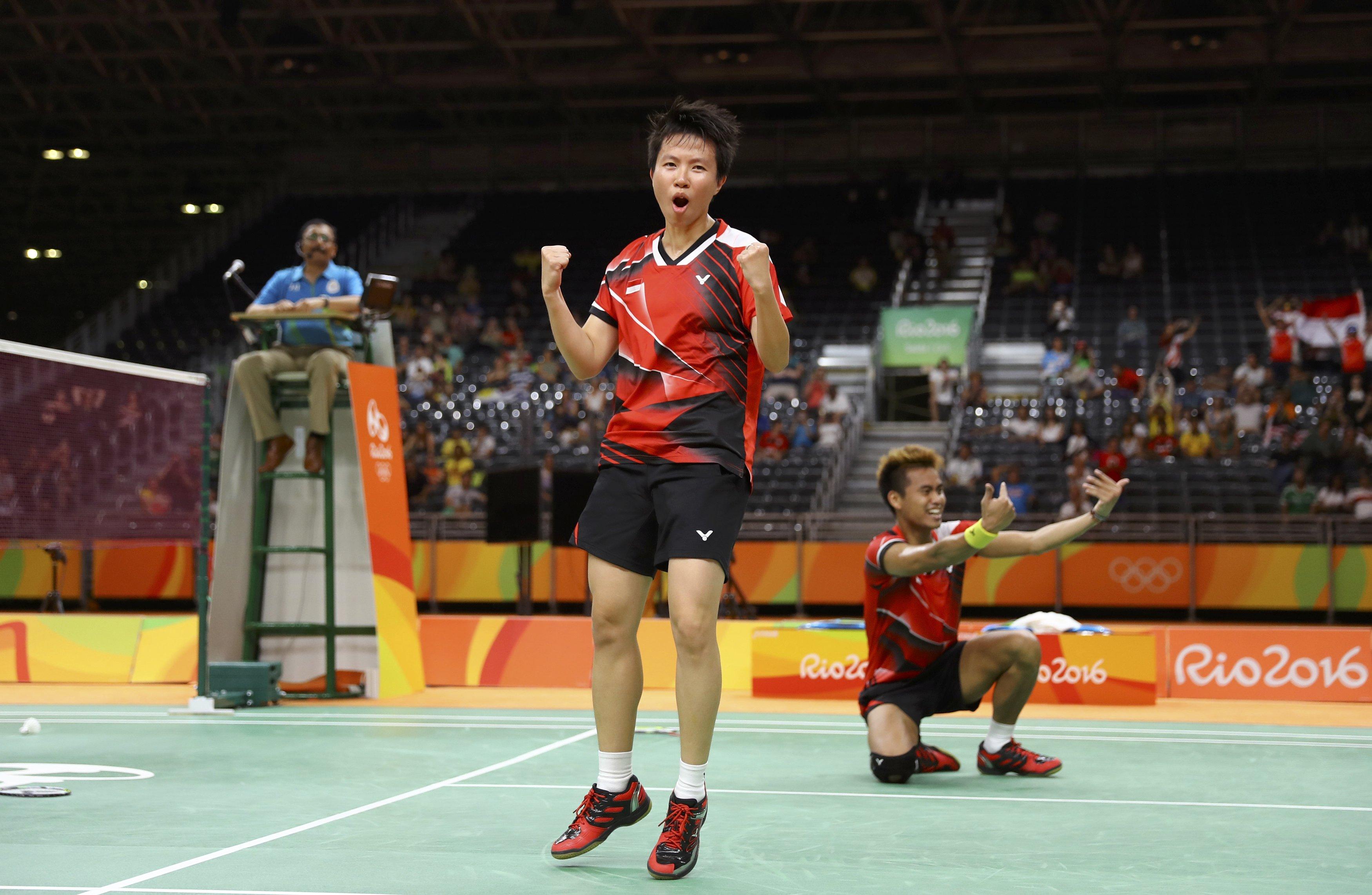 SAKSIKAN Liliyana Natsir ingin juarai Indonesia Open bersama