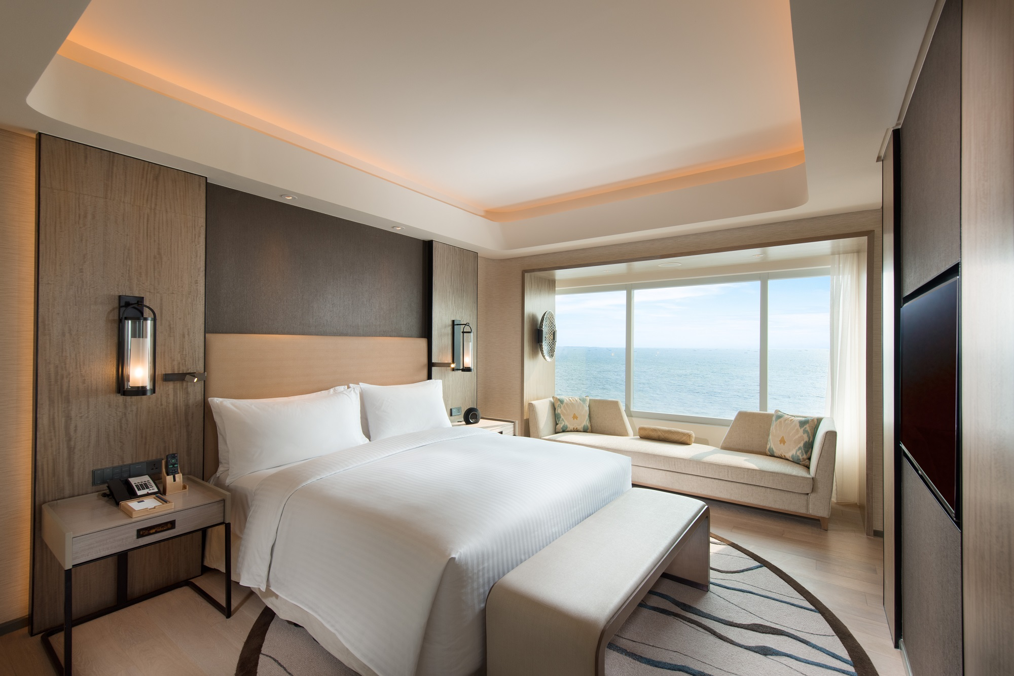 Luxury Hotel Conrad Manila Opens Its Doors