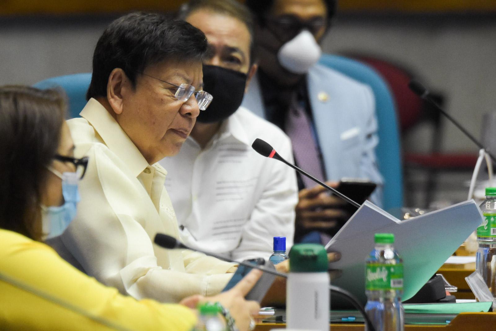 ABS-CBN accuser Marcoleta asks Gabby Lopez to recite 'Panatang ...