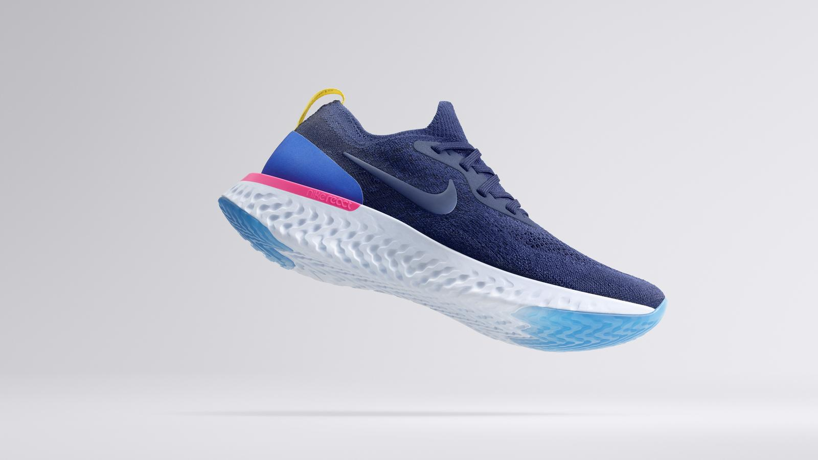 Nike's new running shoes were designed with athletes in mind. Photo