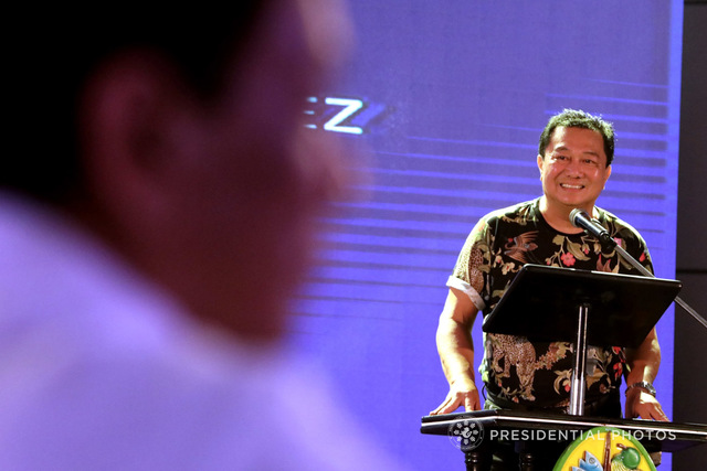 JOINT VOTING. House Speaker Pantaleon Alvarez insists on joint voting, contrary to the opinion of senators as well as those who framed the 1987 Constitution. Malacañang file photo