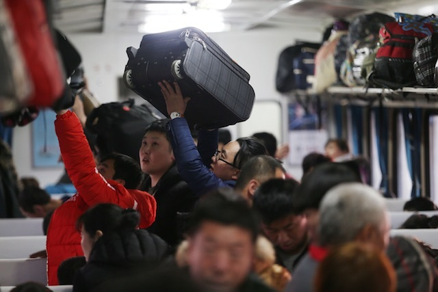 chinese passengers