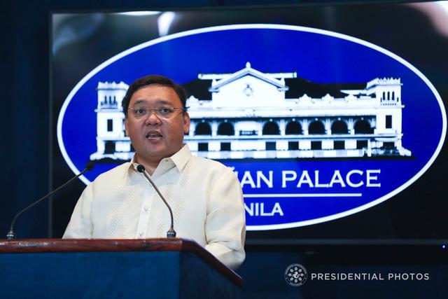 CLARIFICATIONS. Presidential Spokesperson Harry Roque explains President Rodrigo Duterte's controversial remarks. Malacañang file photo