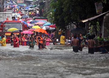Conversation: How do we solve the flooding problem?