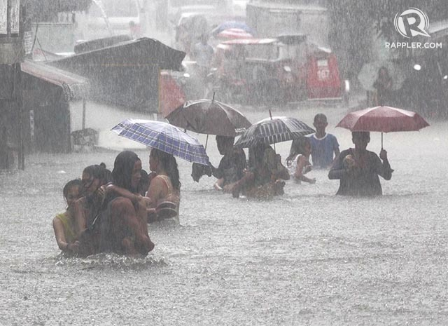 Jew Detector: #FloodPH Alert: Netizens Report Floods In Metro Manila