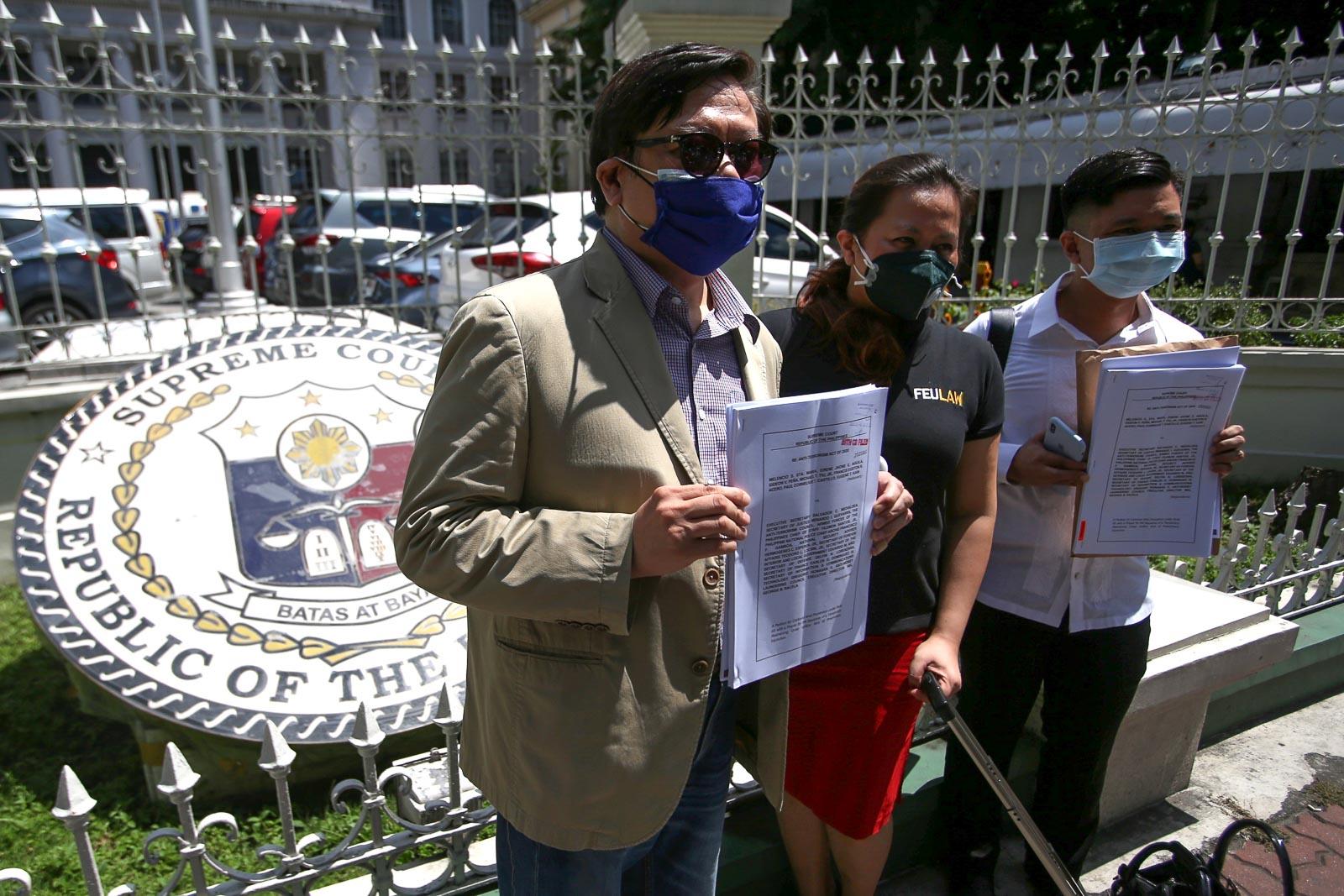 More petitions to come: Supreme Court battle vs anti-terror law starts - Rappler