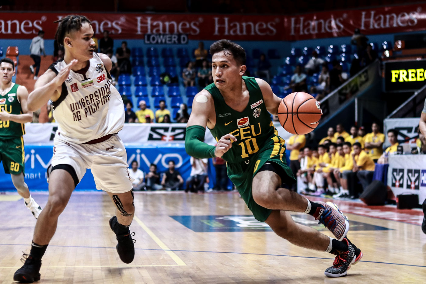 FEU blasts UP as Perasol serves suspension